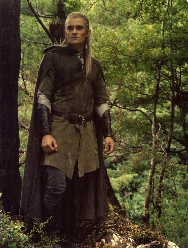 Orlando Bloom As Legolas Greenleaf Rainbow Week: G...